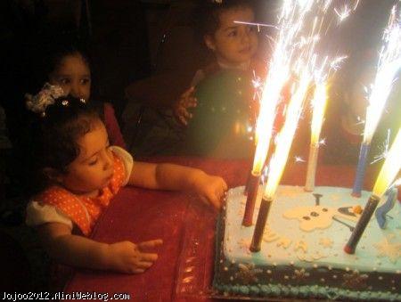 ویانا در جشن تولد
