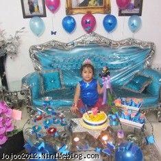 تولد با تم پروانه ویانا کوچولو