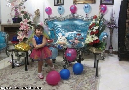 تم تولد پروانه ای برای ویانا کوچولو