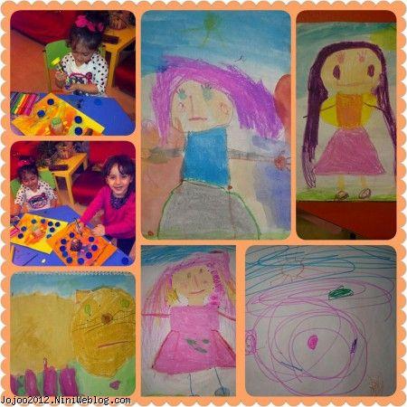 نقاشی کودکانه ویانای من