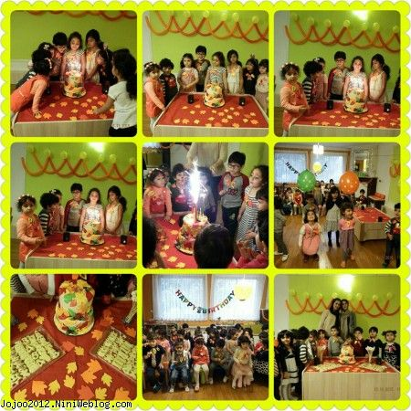 ویانا در جشن تولد در نارتی تی