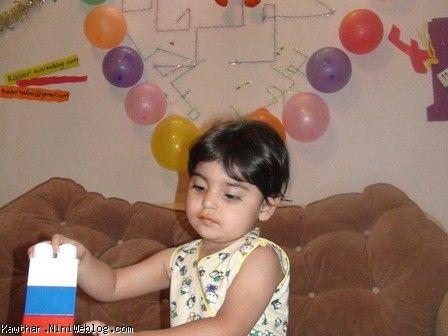 جشن تولد دو سالگی کوثر جان