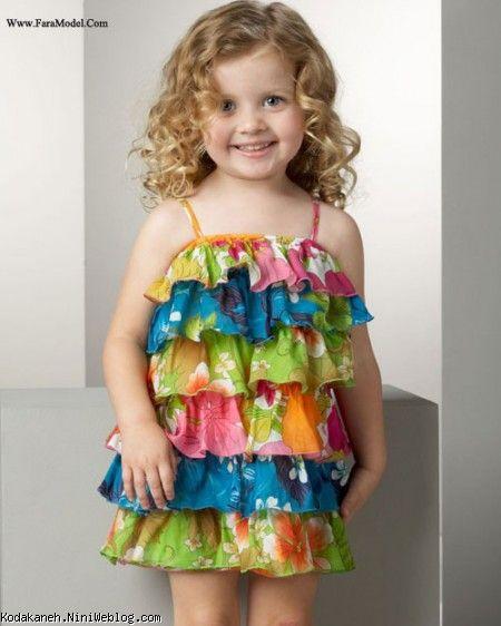 مدل لباس تابستانی دخترونه