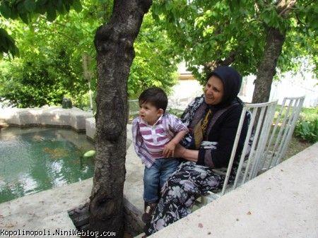 مامان بزرگ و محمدرضا