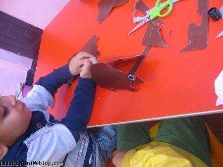 کاردستی بچه 5 ساله خانه خلاقیت لیلی | کاردستی حیوانات