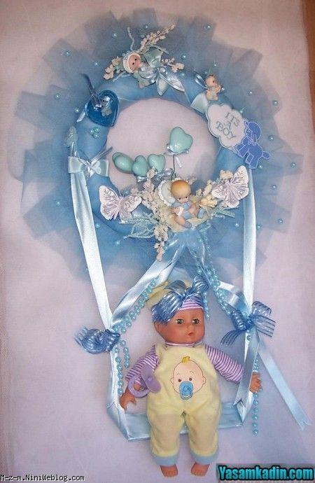 شال گردن نوزادپسر