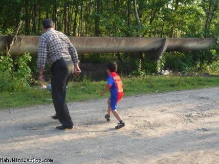 پسر فوتبالیست من