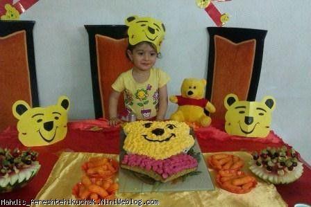 تولد 2 سالگی مهدیس عزیز با تم پوه