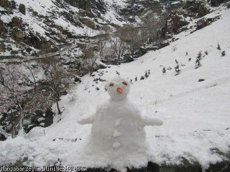 ادم برفی