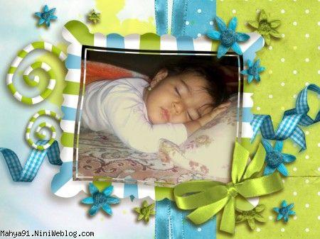 محیا در خواب