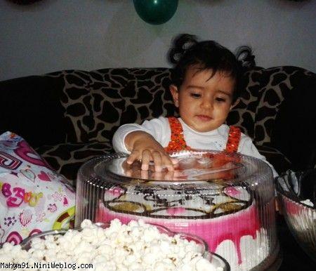 تولد یک سالگی محیا