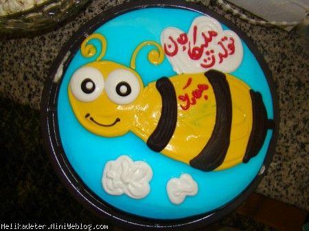 کیک زنبوری