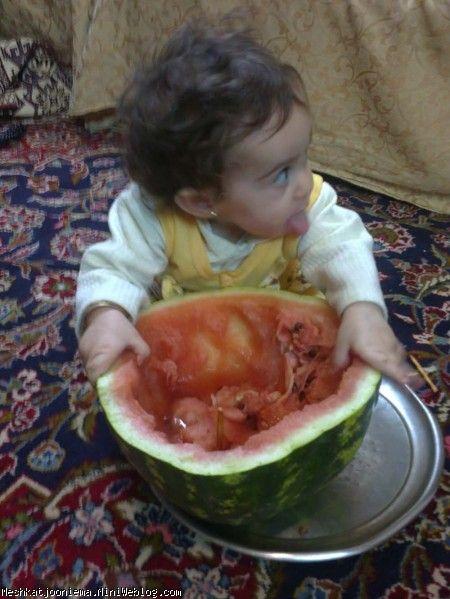 مشکات و هندوانه شب یلدا