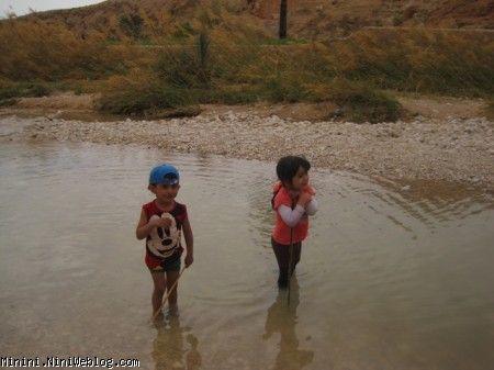 برسام و پرنا در دریاچه چهارطاق