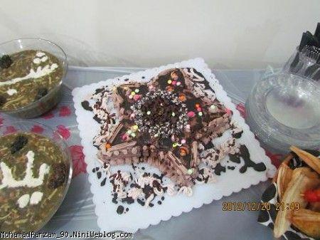 کیک ستاره ای
