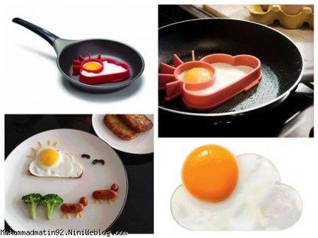 تزييني زيبا با تخم مرغ