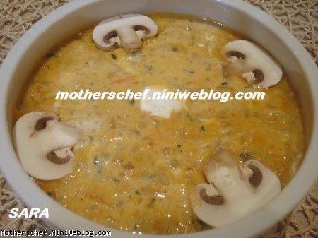 سوپ شير و خامه
