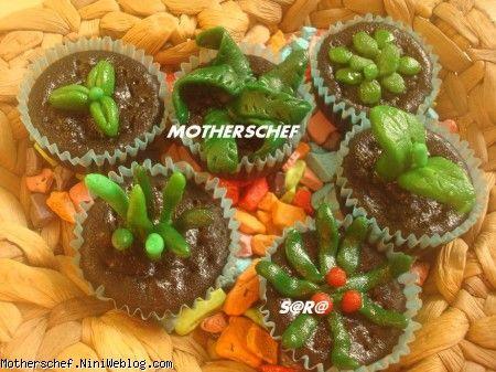 کاپ کیک-فوندانت