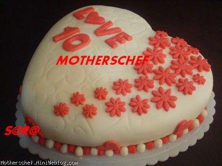 کیک روز عشق