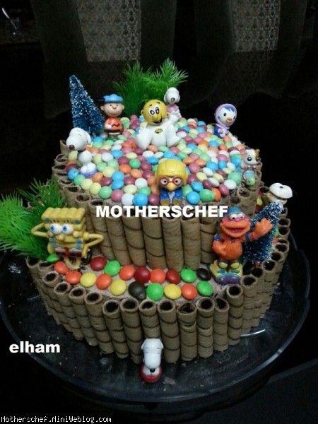 کیک روز جهانی کودک