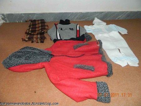 لباس های بافتنی و کاپشن و شال و کلاه پینگیل :
