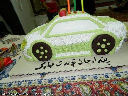کیک تولد پسرم (انتخاب خودش بود)