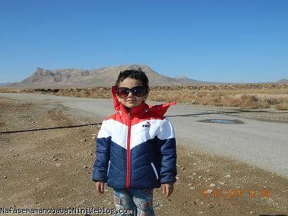 پسرم بعد از زیارت سیده صالحه خاتون(س)
