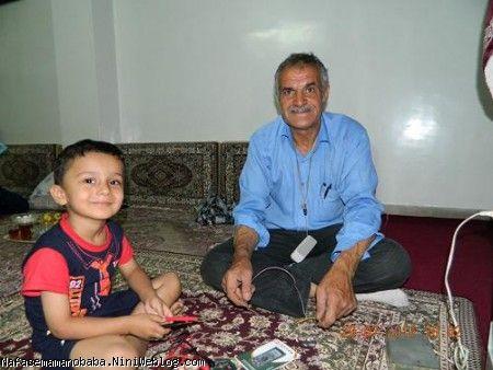 پسر فنی مامان کنار بابا رضا