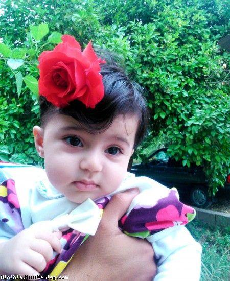 آویسا در باغ پرتقال
