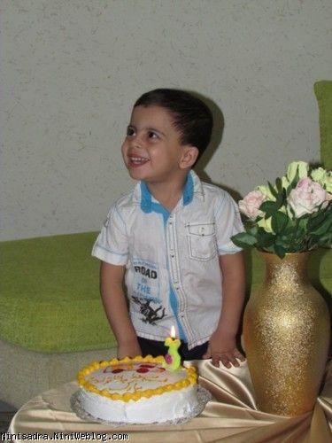 کاردستی جرثقیل کودک من   تولد 3 سالگی محمد صدرا عزیز با تم جرثقیل