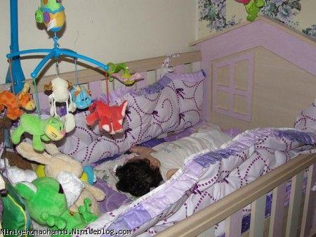 تخت خواب نوزاد + مسیحا جونی