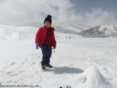 برف بازی پرهام