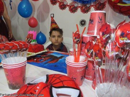 تولد شش سالگی پرهام