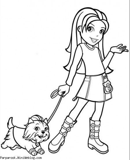 نقاشی های دختران کارتونی