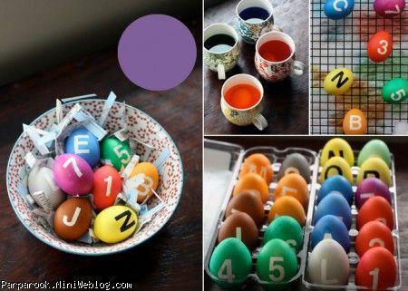 ایده های خلاقانه تزیین تخم مرغ