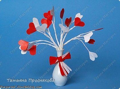 دسته گلی از قلب بسازید