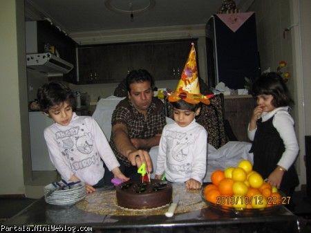 تولد 4سالگی رسول