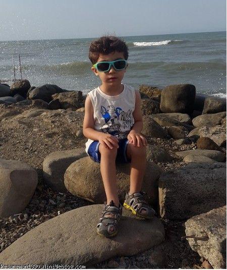 رادین در 4 سالگی
