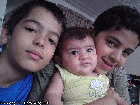 رهام و پسرخاله هاش
