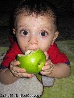میوه خوردن محمدصدرا