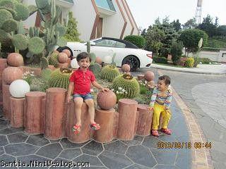 شنتيا و رادين در هتل نارنجستان و مازراتي