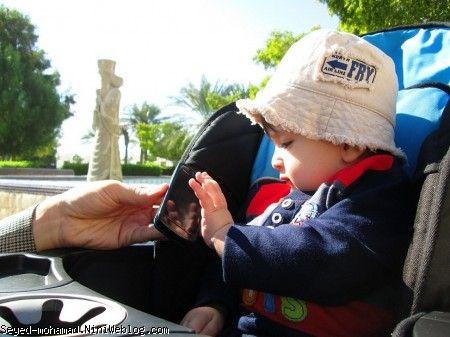 سید محمد و تلفن