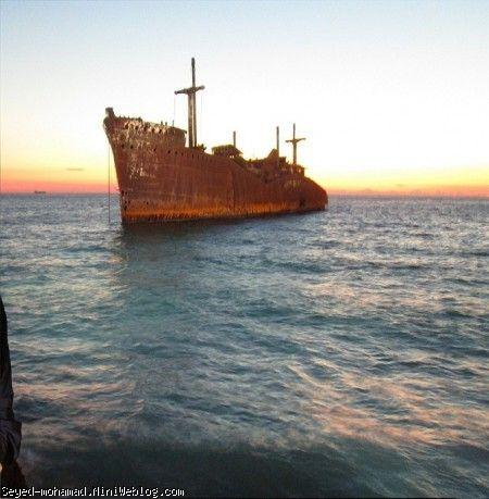 سید محمد و کشتی یونانی