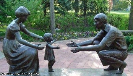 پدر و مادر شدن سخته ولی...