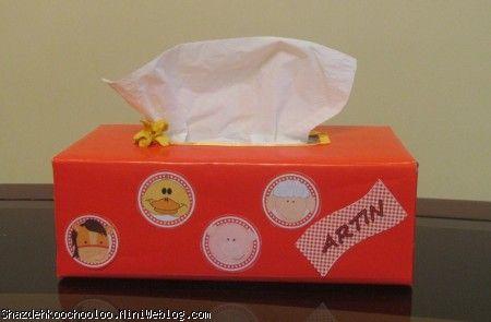 جعبه دستمال کاغذی- تم مزرعه حیوانات