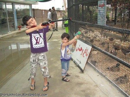 باغ وحش و شکارچیان