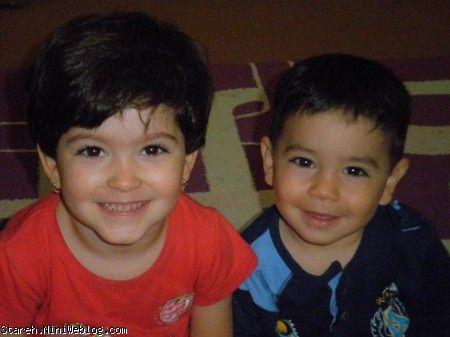 یاسمن و محمدپارسای عزیز