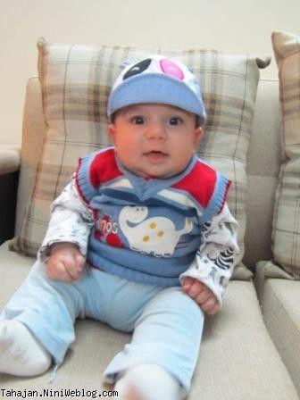 آقا طاها با کلاه جدید در خونه خاله